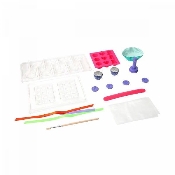 Купить Набор Bondibon Французские опыты Науки с Буки - Шоколадная фабрика (15 экспериментов) в интернет магазине игрушек и детских товаров