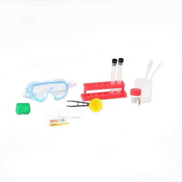 Купить Набор Bondibon Французские опыты Науки с Буки Маша и Медведь - Машина лаборатория (40 экспериментов) в интернет магазине игрушек и детских товаров