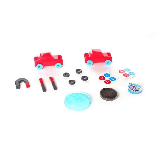 Купить Набор Bondibon Японские опыты Науки с Буки - Магнитные гонки в интернет магазине игрушек и детских товаров