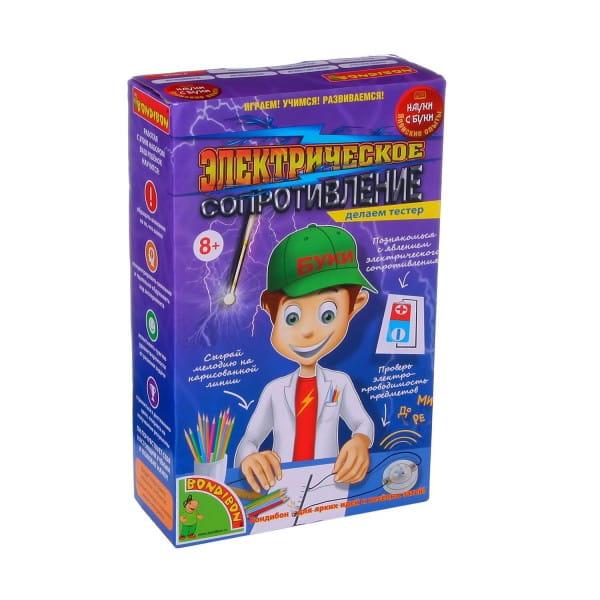 Купить Набор Bondibon Японские опыты Науки с Буки - Электрическое сопротивление в интернет магазине игрушек и детских товаров