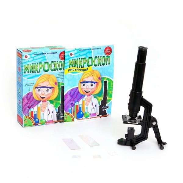 Купить Набор Bondibon Японские опыты Науки с Буки - Микроскоп в интернет магазине игрушек и детских товаров
