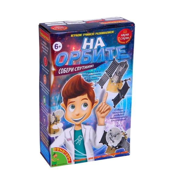 Купить Набор Bondibon Японские опыты Науки с Буки - На орбите в интернет магазине игрушек и детских товаров