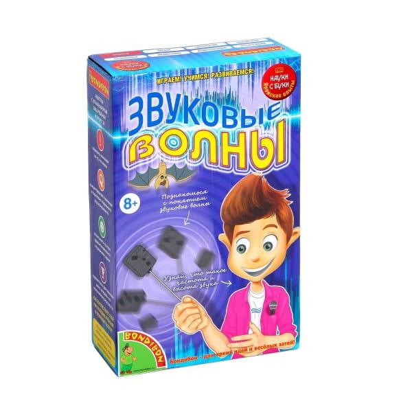 Купить Набор Bondibon Японские опыты Науки с Буки - Звуковые волны в интернет магазине игрушек и детских товаров