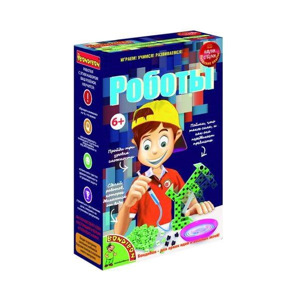 Купить Набор Bondibon Японские опыты Науки с Буки - Роботы в интернет магазине игрушек и детских товаров