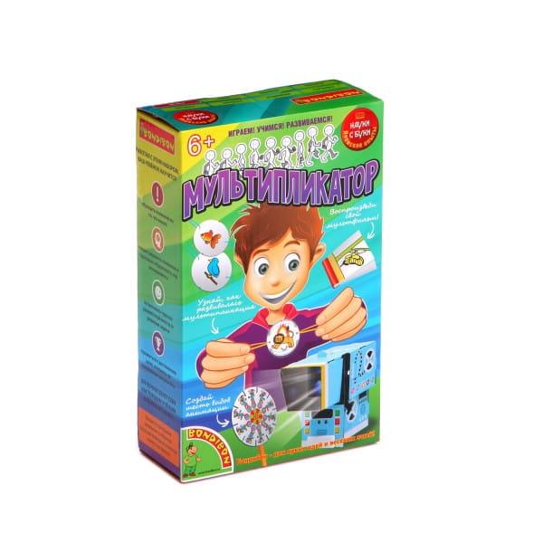 Купить Набор Bondibon Японские опыты Науки с Буки - Мультипликатор в интернет магазине игрушек и детских товаров