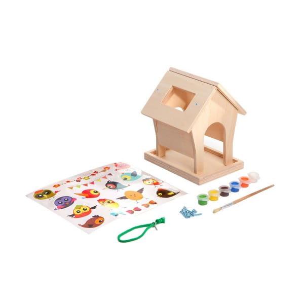 Купить Набор для творчества Bondibon Моделирование из дерева - Кормушка своими руками в интернет магазине игрушек и детских товаров