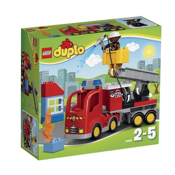 Купить Конструктор Lego Duplo Лего Дупло Пожарный грузовик в интернет магазине игрушек и детских товаров
