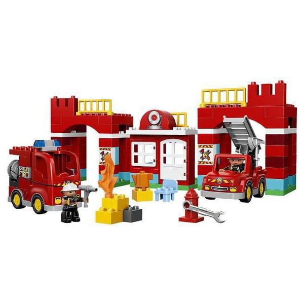 Купить Конструктор Lego Duplo Лего Дупло Пожарная станция в интернет магазине игрушек и детских товаров