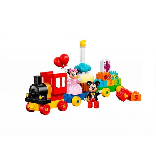 Купить Конструктор Lego Duplo Лего Дупло День рождения с Микки и Минни в интернет магазине игрушек и детских товаров