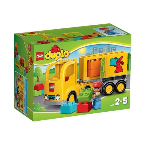 Купить Конструктор Lego Duplo Лего Дупло Желтый грузовик в интернет магазине игрушек и детских товаров
