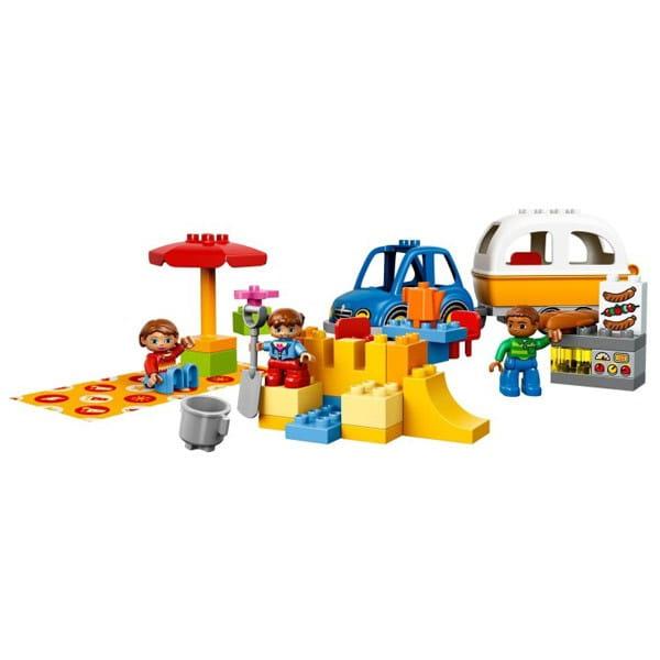 Купить Конструктор Lego Duplo Лего Дупло Отдых на природе в интернет магазине игрушек и детских товаров