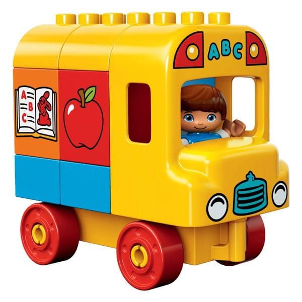 Купить Конструктор Lego Duplo Лего Дупло Мой первый автобус в интернет магазине игрушек и детских товаров