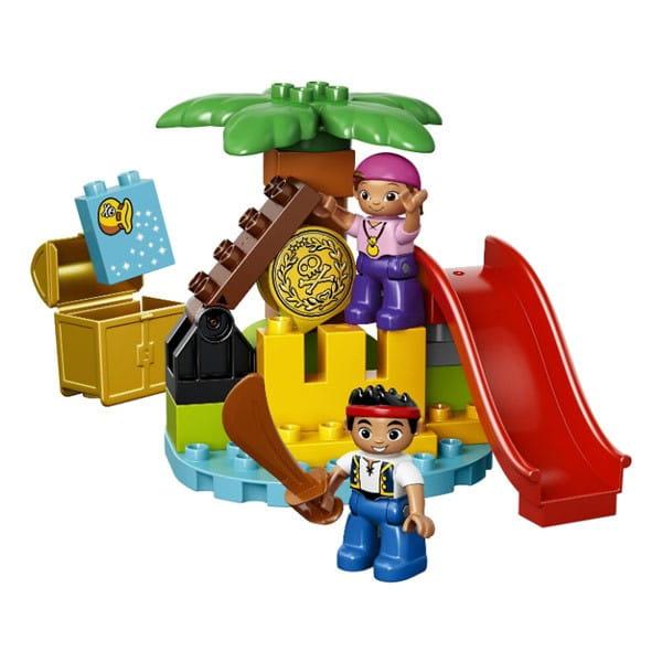 Купить Конструктор Lego Duplo Лего Дупло Остров сокровищ в интернет магазине игрушек и детских товаров