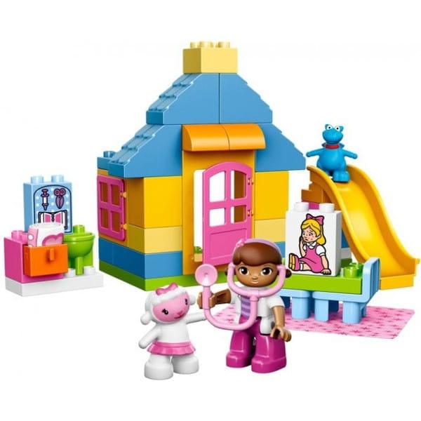 Купить Конструктор Lego Duplo Лего Дупло Больница Доктора Плюшевой в интернет магазине игрушек и детских товаров