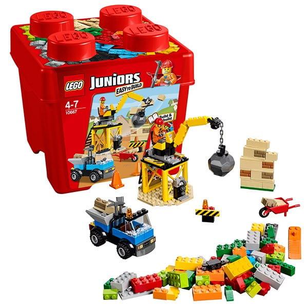 Конструктор Lego Juniors Лего Джуниорс Стройка