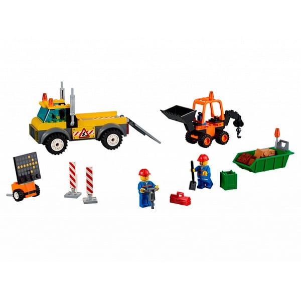 Конструктор Lego Juniors Лего Джуниорс Грузовик для дорожных работ