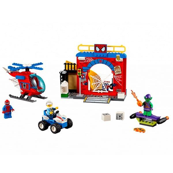 Конструктор Lego Juniors Лего Джуниорс Убежище Человека-паука
