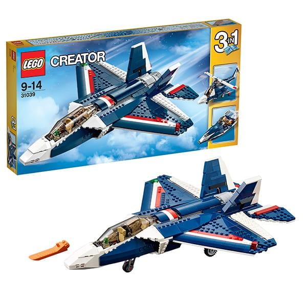 Конструктор Lego Creator Лего Криэйтор Синий реактивный самолет