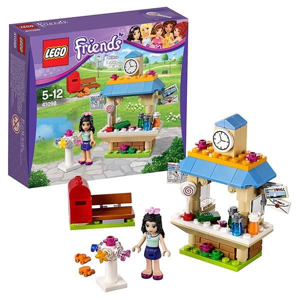 Купить Конструктор Lego Friends Лего Подружки Туристический киоск Эммы в интернет магазине игрушек и детских товаров