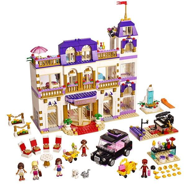 Купить Конструктор Lego Friends Лего Подружки Гранд-отель в интернет магазине игрушек и детских товаров