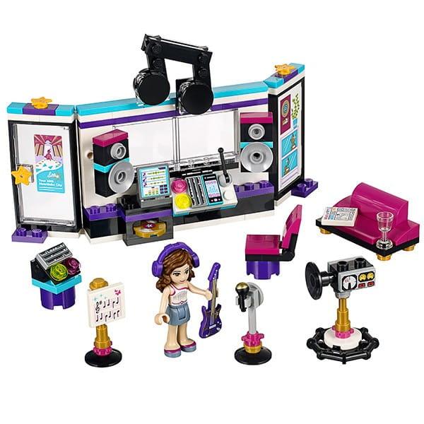 Конструктор Lego Friends Лего Подружки Поп звезда - студия звукозаписи
