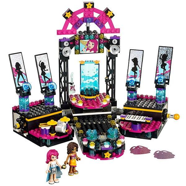 Купить Конструктор Lego Friends Лего Подружки Поп звезда - сцена в интернет магазине игрушек и детских товаров
