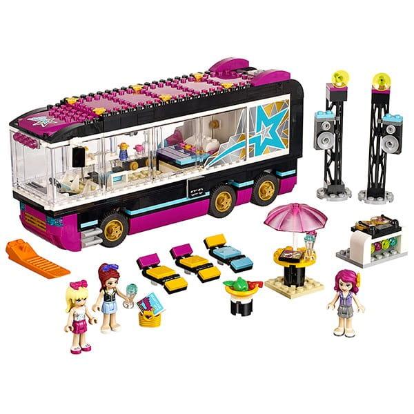 Купить Конструктор Lego Friends Лего Подружки Поп звезда - гастроли в интернет магазине игрушек и детских товаров