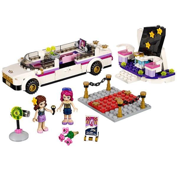 Купить Конструктор Lego Friends Лего Подружки Поп звезда - лимузин в интернет магазине игрушек и детских товаров