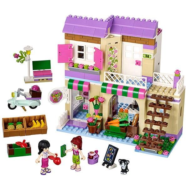 Купить Конструктор Lego Friends Лего Подружки Продуктовый рынок в интернет магазине игрушек и детских товаров