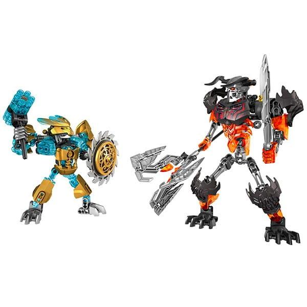 Конструктор Lego Bionicle Лего Бионикл Создатель масок против Стального черепа