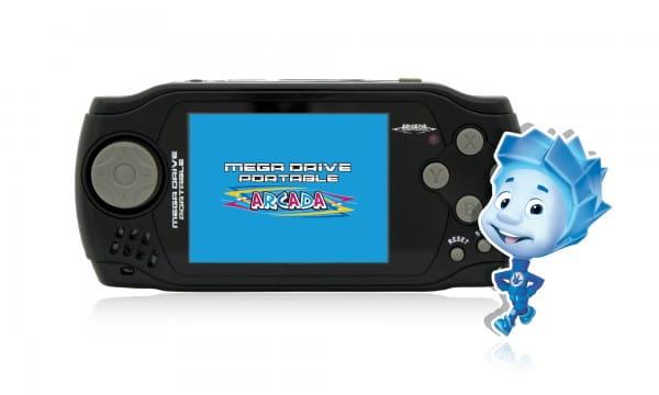 "������� �������������� Mega Drive Arcada 3"" (105 ���������� ���)"