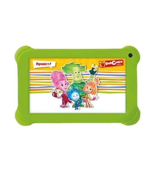 Купить Детский планшет Exeq P-1011 ФиксиТаб - зеленый в интернет магазине игрушек и детских товаров