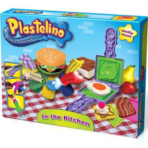 Купить Набор для творчества Plastelino Гамбургер в интернет магазине игрушек и детских товаров