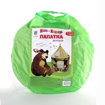 Купить Палатка Bondibon Маша и Медведь (в сумке) в интернет магазине игрушек и детских товаров