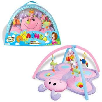 Купить Развивающий коврик для малышей Zhorya Полянка (бабочка) в интернет магазине игрушек и детских товаров