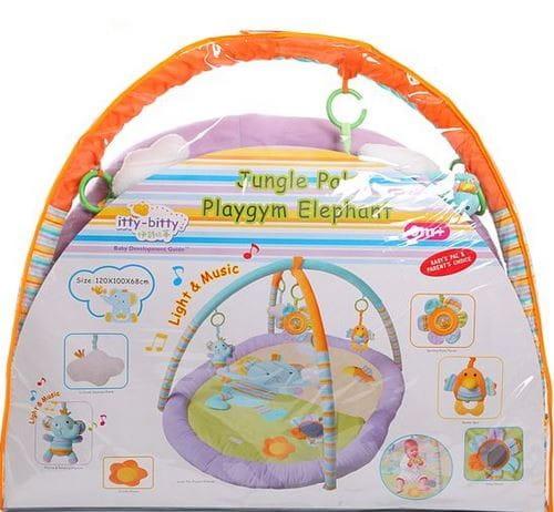 Купить Развивающий коврик с дугами Zhorya Слоник в интернет магазине игрушек и детских товаров