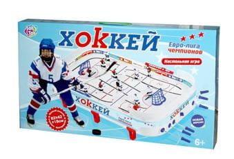 Настольная игра Joy Toy Хоккей (PLAY SMART) - Настольный хоккей и футбол