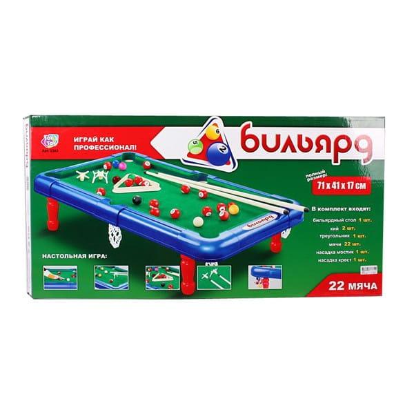 Настольная игра Play Smart Ф48152 Бильярд (22 мяча)