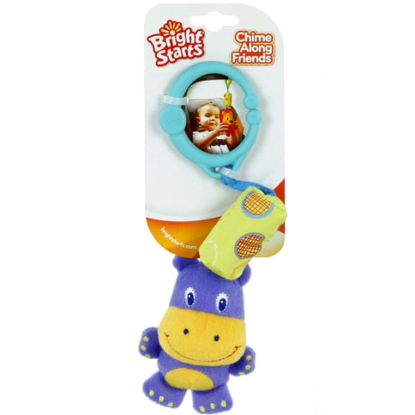 Развивающая игрушка Bright Starts 8487-2 Звонкий дружок - Гиппопотам