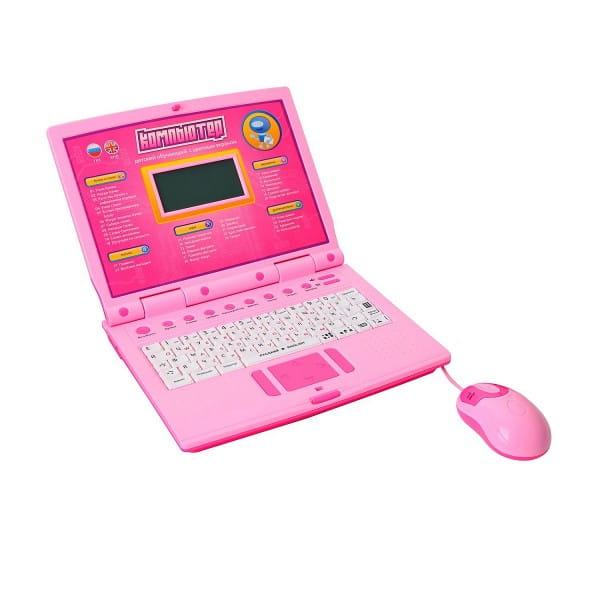 Компьютер обучающий Joy Toy с цветным экраном 7161 (Play Smart)
