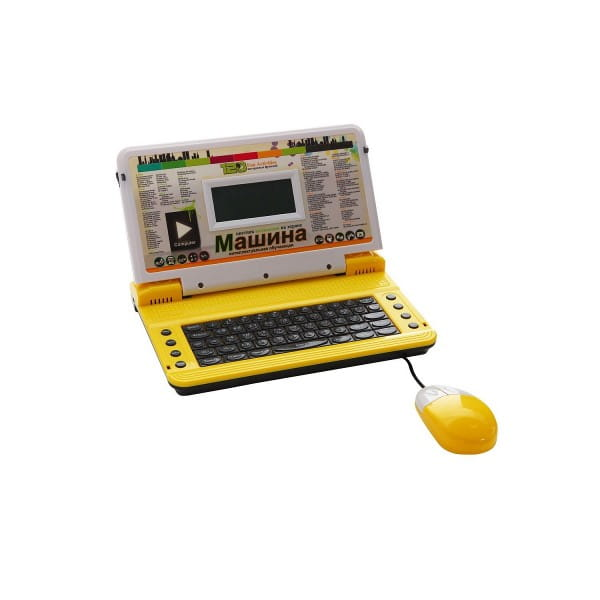 Детский обучающий компьютер Abezkad Машина с цветным дисплеем