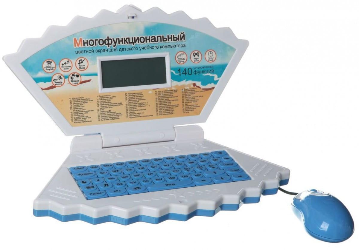 Детский обучающий компьютер-сумка Abezkad Б54218 - 140 функций
