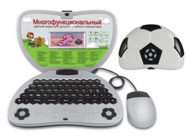 Детский обучающий компьютер Abezkad Футбольный мяч - 140 функций