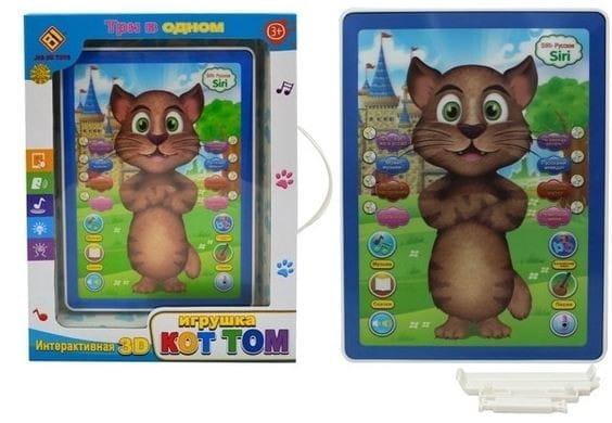 Купить Интерактивный планшет Zhorya Кот Том в интернет магазине игрушек и детских товаров