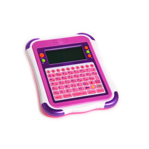 Обучающий планшет Joy Toy 32 функции - розовый (Play Smart)