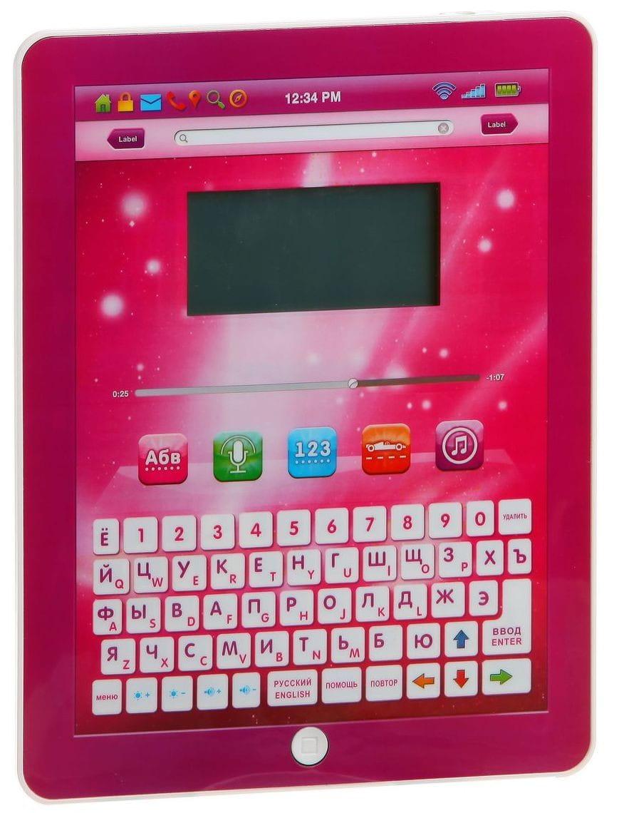 Обучающий планшет Play Smart Б48223 2 (русско-английский)