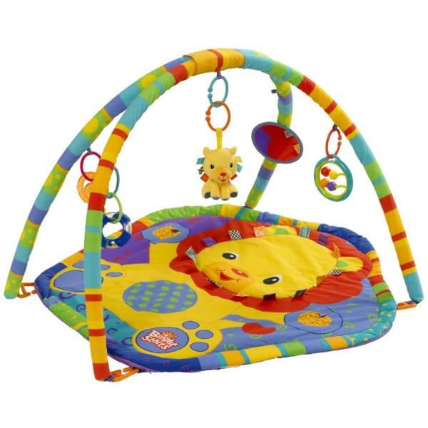 Купить Развивающий коврик Bright Starts Львенок в интернет магазине игрушек и детских товаров