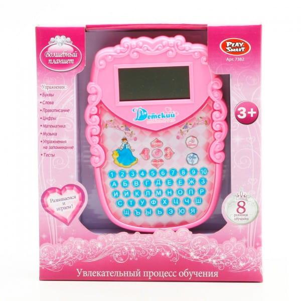Купить Детский обучающий компьютер Play Smart Волшебный планшет в интернет магазине игрушек и детских товаров