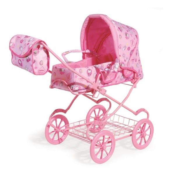 Купить Коляска для кукол Melogo с сумкой и металлическим поддоном в интернет магазине игрушек и детских товаров