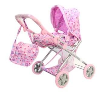 Купить Коляска-люлька для кукол Melogo 73x42x68 см в интернет магазине игрушек и детских товаров